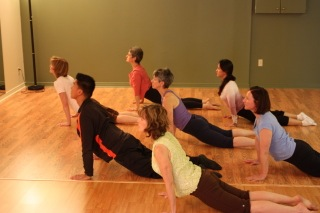 """In the """"inchworm"""" sequence, this 'cobra' pose is just part of a dynamic whole-body flexion/extension sequence"""