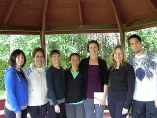 Level I: left to right–Ann Rose, Vicki Berman,Megan Andrews,Mary Ganzon, Maureen O'Donnell, Suzanne Huard, Barnaby Ohrstrom